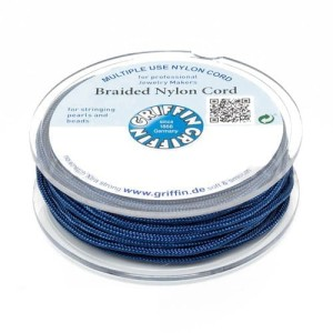 Griffin BRAIDED NYLON CORDS Sznurek nylonowy pleciony 0.5mm 25m - Dark Blue