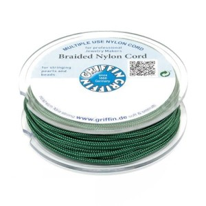 Griffin BRAIDED NYLON CORDS Sznurek nylonowy pleciony 0.5mm 25m - Dark Green