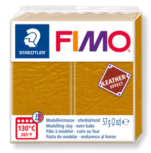 179 FIMO LETHER EFFECT masa 57g - ochra