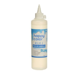 HAPPY COLOR Klej PVA do papieru gluty SLIME bezbarwny 250g