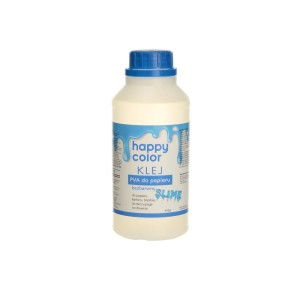 HAPPY COLOR Klej PVA do papieru gluty SLIME bezbarwny 500g
