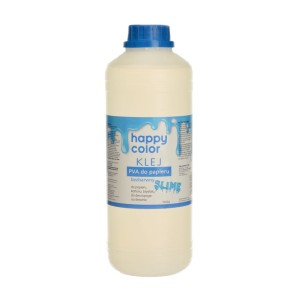 HAPPY COLOR Klej PVA do papieru gluty SLIME bezbarwny 1000g