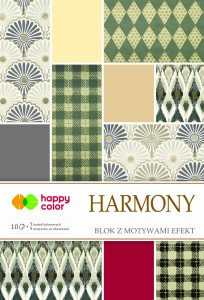 HAPPY COLOR Blok z motywami efekt HARMONY