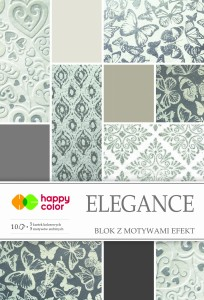 HAPPY COLOR Blok z motywami efekt ELEGANCE