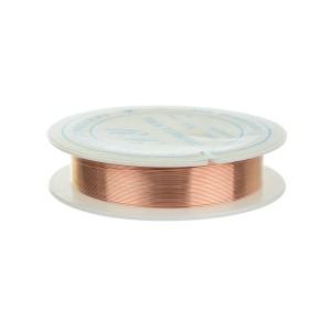 DJ167 Drut jubilerski stalowy 0.5mm szpula 7m rose gold