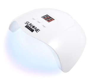 Lampa UV/LED SUNONE SMART 48W do utwardzania żywic żeli resin uv - biała